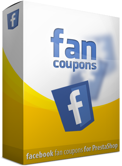 facebook coupon prestashop