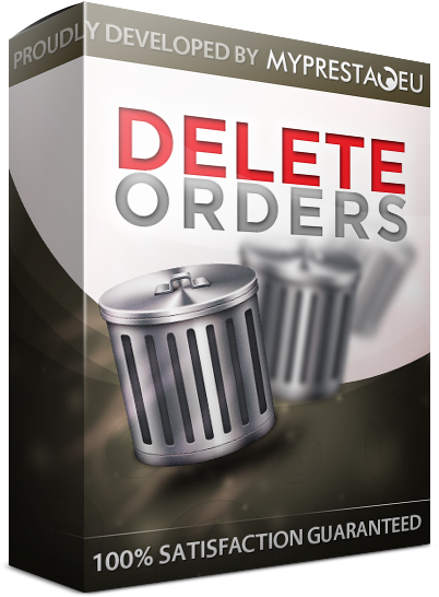 Delete Oders in Prestashop