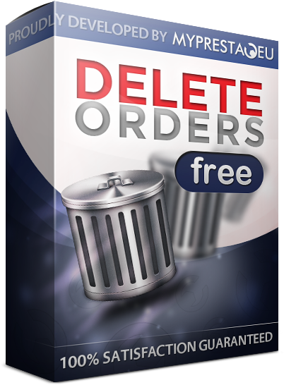 PrestaShop Delete Orders module for free