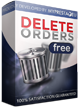 Delete orders in PrestaShop for free, module
