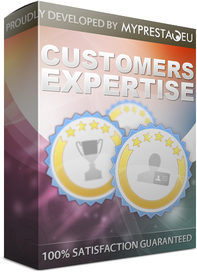 Prestashop gamification - customers expertise module
