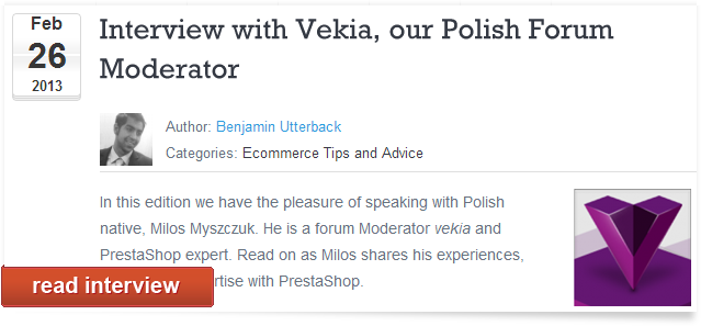 official interview with our CEO - vekia