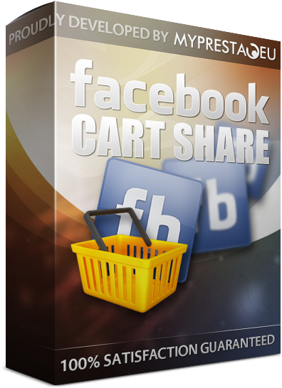 prestashop cart share on facebook voucher code coupon
