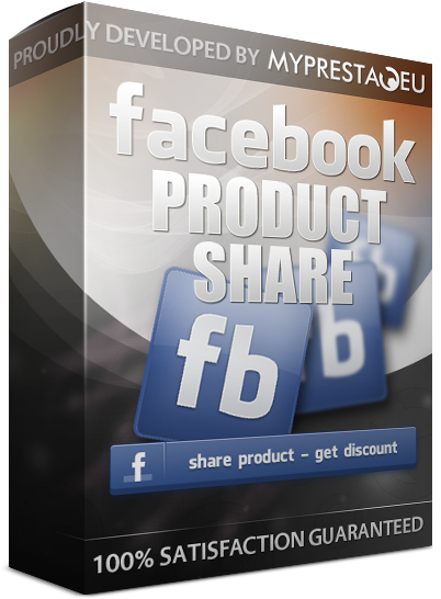 facebook product share + discount code
