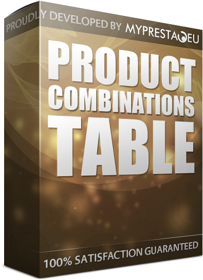 combinations table prestashop