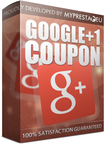 google+1 product coupon code