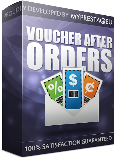 voucher codes after order