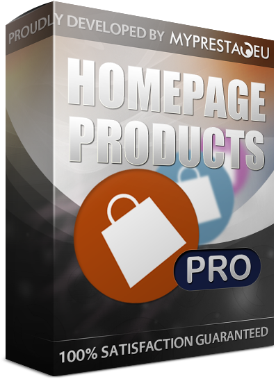 homepage prestashop products featured