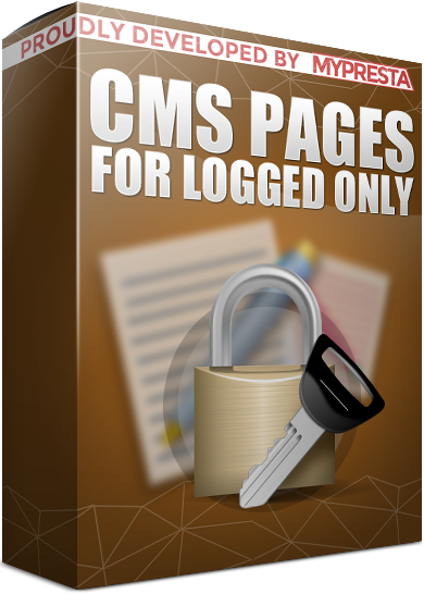 cms page for logged users