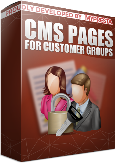 visibility of CMS pages for customer groups