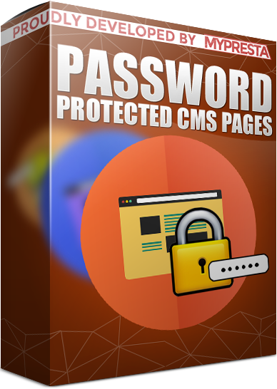 cms pages password protected