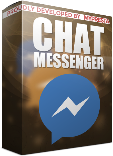 Messenger chat for prestashop