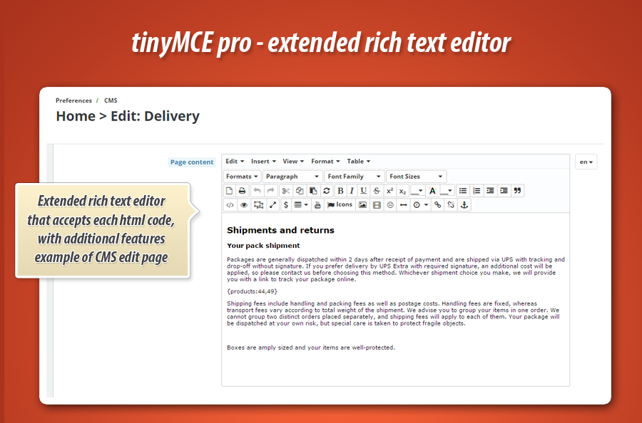 how to add text editor in html