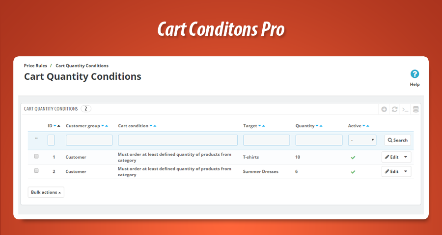 Accept exact number if items in cart only (prestashop)