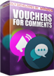 PrestaShop Voucher for product comment This module is a great marketing tool that sends reminders about pending comments for products that customer bought. Module has also feature to send dedicated and unique voucher code for product comment. With advanced voucher personalization tool you can define each aspect of voucher code.
