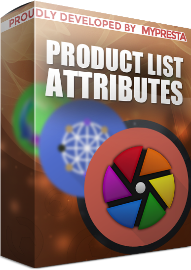 Customization of product list attributes module for PrestaShop