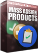 PrestaShop Mass assign / move products to categories With this module you can easily move / assign products to selected categories in bulk. Plugin has a wizard that helps you in whole assign / move process. Whole process is automatic and with this addon you can save a lot of time (it's not necessary to move products one by one anymore)
