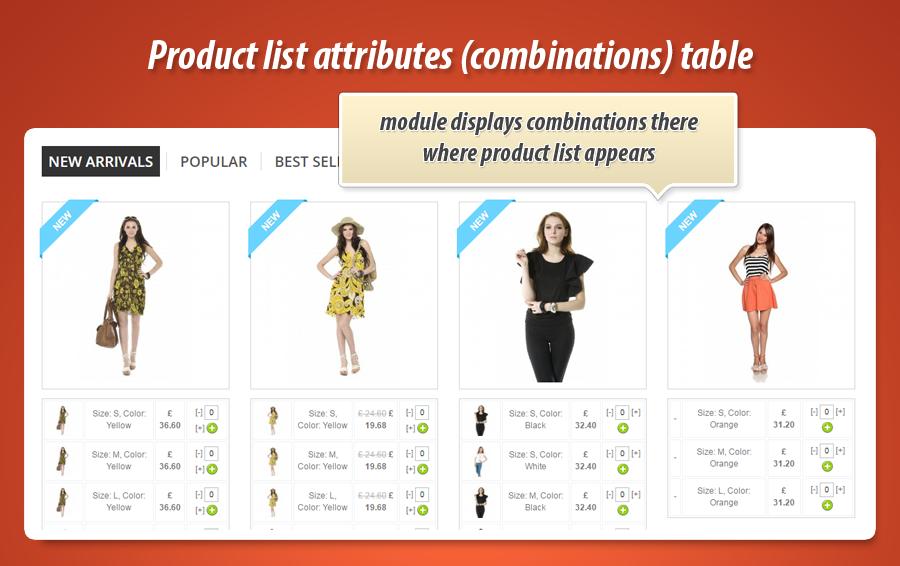 Ukrycie standardowej ceny na liście produktów w prestashop, gdy produkt ma kombinacje