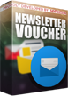 PrestaShop Unique voucher for newsletter signup This module for PrestaShop generates dedicated voucher codes for newsletter subscription. Module works with standard newsletter subscrition module that is available in PrestaShop by default.  Each code generated with this plugin is unique and customer get it via email.