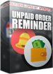 PrestaShop Unpaid order reminder This PrestaShop Module allows to automatically send reminders to your shop customers about unpaid orders. You can personalize emails and send many reminders after defined time (for example after 24 hours from order). With module you can create unlimited number of order reminders.