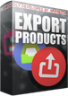 PrestaShop Export Products Pro With this module you can easily export products and it's combinations to CSV file. Module can export whole catalog and exported file will be ready to use it in Import CSV tool available in prestashop. Module has several features that allows to define what kind of products module will export.