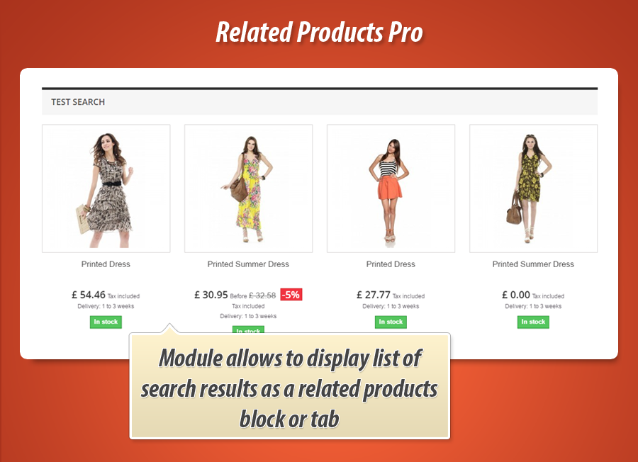 Related products inside a tab in PrestaShop