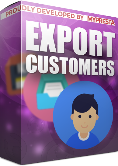 export customers in prestashop 1.7, 1.6, 1.5