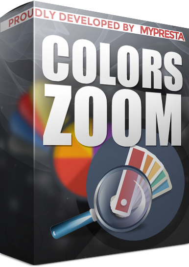 color thumbnail zoom in prestashop