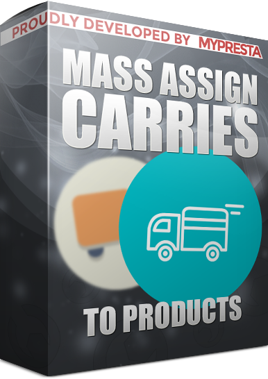 Assign multiple carriers to products in bulk