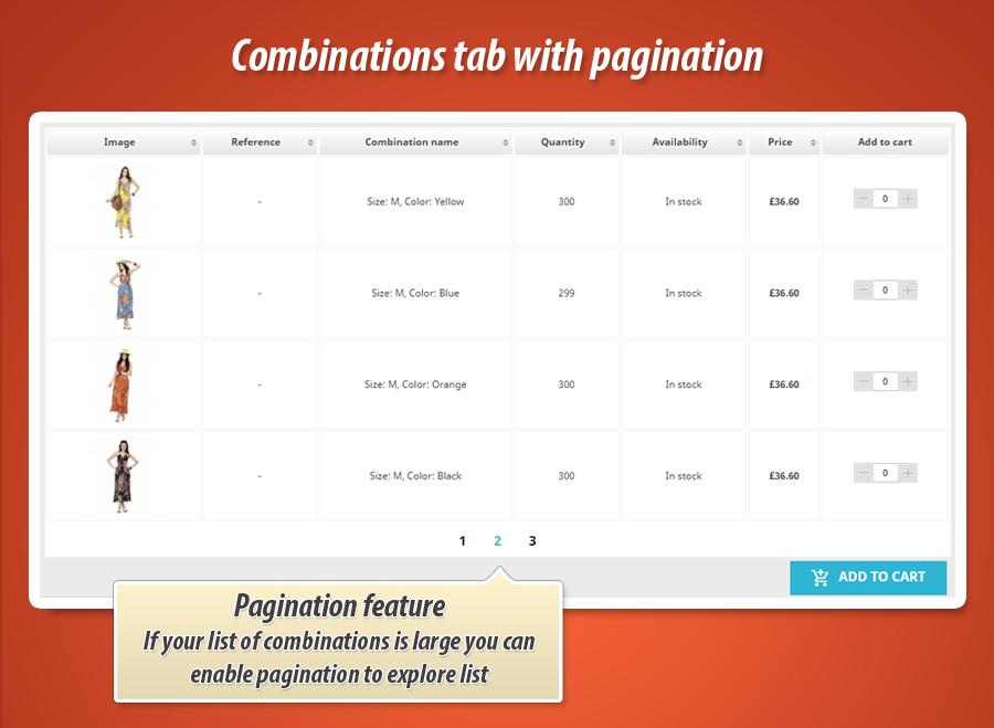 f035d2bad625e7 Prestashop tabela kombinacji na stronie produktu