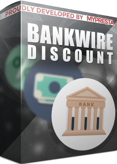 bankwire with discount module for prestashop