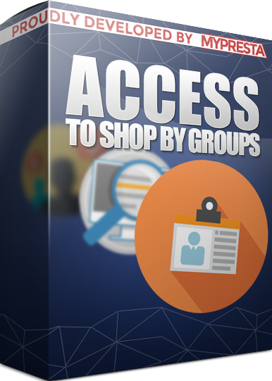 Access to shop by groups private shop