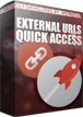 PrestaShop Quick Access - external urls Quick access is a default feature in PrestaShop that allows to add to your shop back office