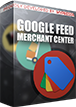 PrestaShop Google merchant center feed With this module you can create feed of products for Google Merchant Center purposes. With this addon you can personalize feed contents thanks to options available during export process. Addon creates two types of feeds: online feed and standard .csv file feed.