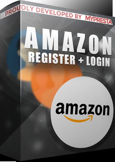Prestashop Amazon connect (register + login)