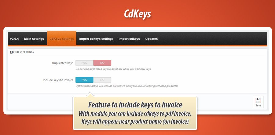 Prestashop Sell CDKeys / License keys