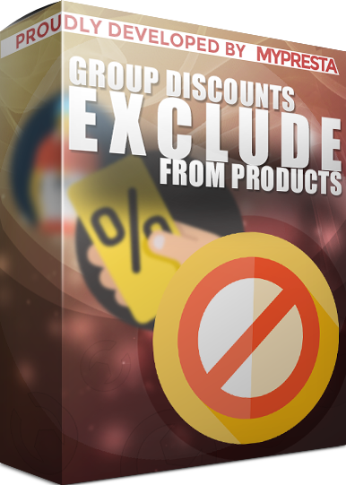group discount - disable it for specific products