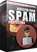 PrestaShop Customer register spam protection Customer register form SPAM protection is a module that blocks spammers in your shop. Spammers and bots will not have possibility to create fake customer accounts. Plugin is based on spam identification algorithm implemented to module and on popular spam identification API from StopForumSpam service.