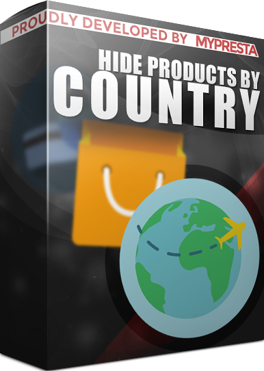 product's visibility in countries