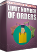 PrestaShop Limit number of allowed orders With this module you can easily control the number of orders that each customer can place in your shop. Main configuration page of the module allows to confiure the value of maximum allowed purchases. If someone will reach this limit - it will not have possibility to place an order in your shop.